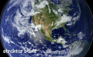 Struktur bumi dan penjelasannya