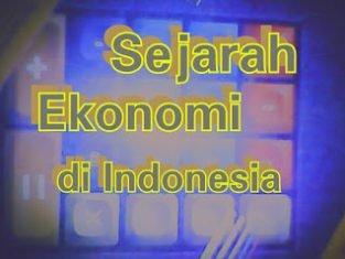 Sejarah ekonomi di Indonesia