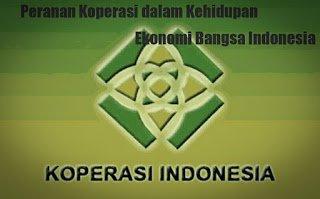 Peranan Koperasi di Indonesia