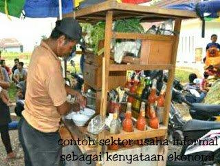 Contoh sektor usaha informal sebagai kenyataan ekonomi