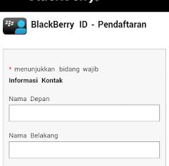 Cara membuat akun bbm tanpa aplikasi blackberry