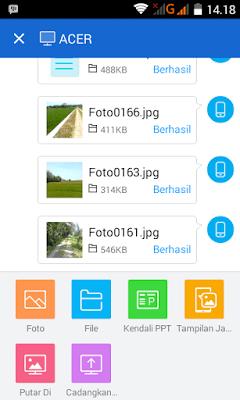 Cara mengirim file dari laptop atau pc ke ponsel android tanpa kabel data