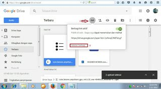 membuat link download melalui google drive 2