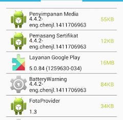 cara mengekstrak atau menyalin aplikasi sistem ke kartu sd pada android