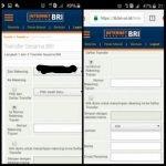 Cara Transfer uang sesama bank dan antar bank lewat BRI Internet Banking