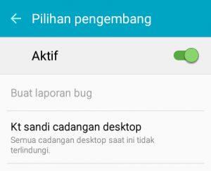 Cara mengaktifkan Mode Pengembang pada perangkat Android