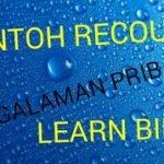 Contoh Sederhana Recount ( Pengalaman Pribadi ) dan Artinya