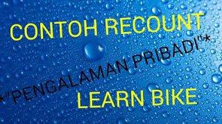 Contoh teks recount sederhana learn bike