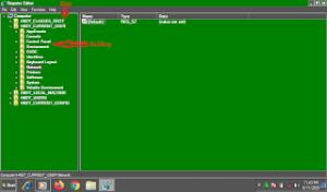 Apa Saja Struktur Registry Windows berikut Struktur Nilai Registry-nya ?