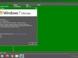 penyebab kerusakan pada registry windows