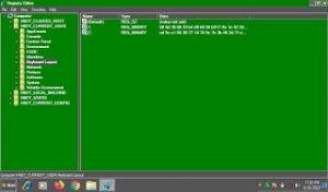 Apa saja Jenis-jenis Modifikasi pada Registry Windows ?