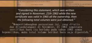 Misteri Harta Amanah Rakyat Indonesia